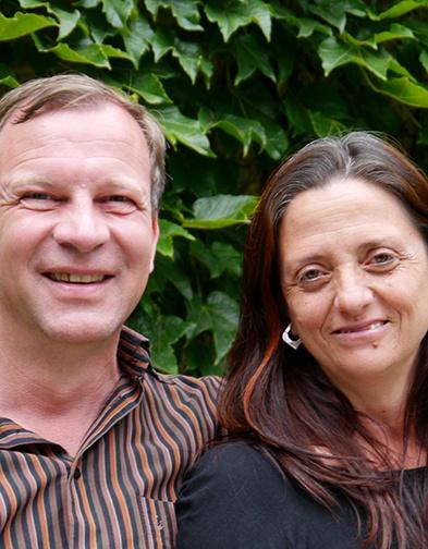 Peter Bourquin & Carmen Cortés