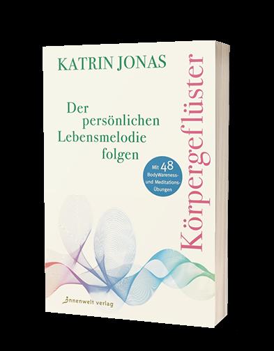Cover Körpergeflüster - Der persönlichen Lebensmelodie folgen von Katrin Jonas