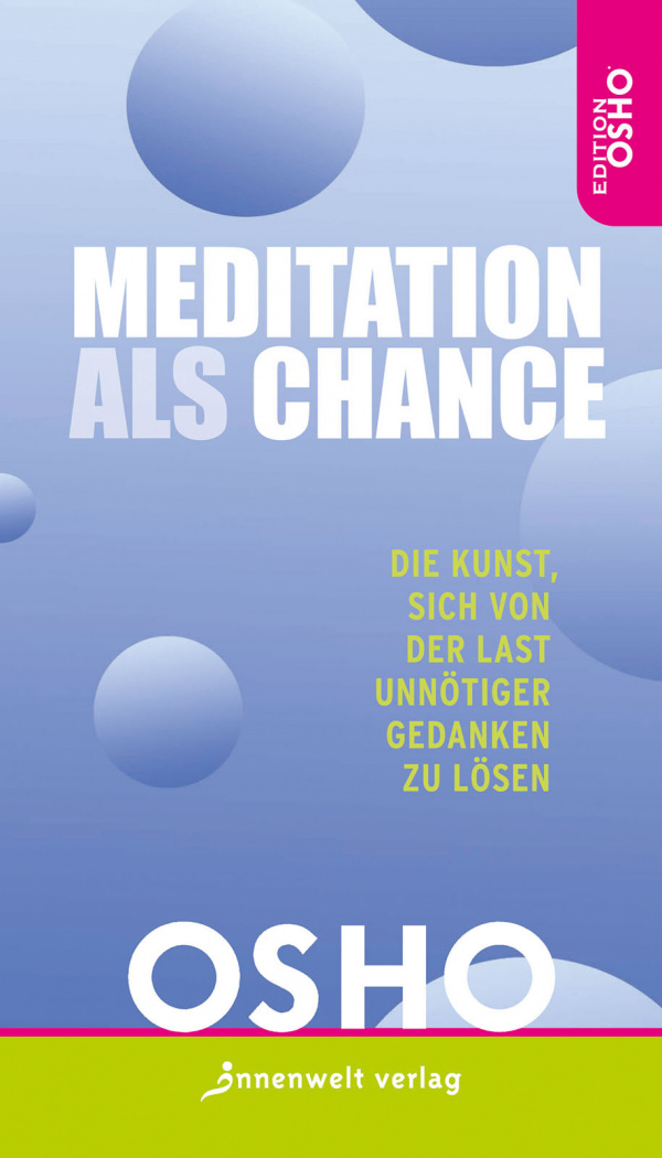 Cover Meditation als Chance